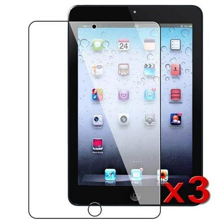 3-pack Crystal Clear Screen Protector for Apple iPad Mini iPad Mini 2 iPad Mini 3
