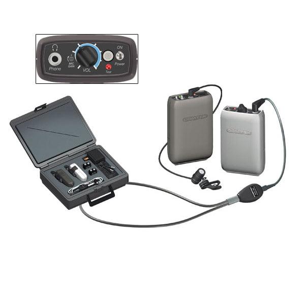 COMTEK Wireless Auditory Assistance Kit with Enviro-Mic