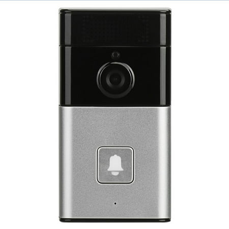 Wireless BT WIFI Smart HD Video Waterproof Doorbell Camera Phone Ring Security Video Door Visual Recording Low Power Consumption Remote Home Monitoring Night Vision