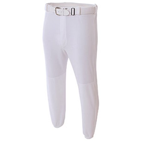 Youth Double Play Polyester Elastic Waist With Belt Loops Baseball Pant