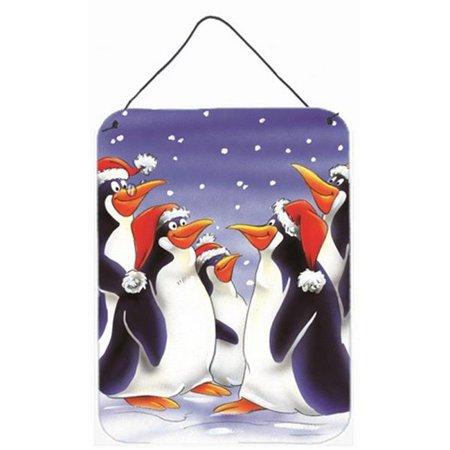 Carolines Treasures AAH7264DS1216 Holiday Penguins Wall or Door Hanging Prints - image 1 de 1