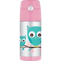 Owl Funtainer 12 oz. Thermos Bottle