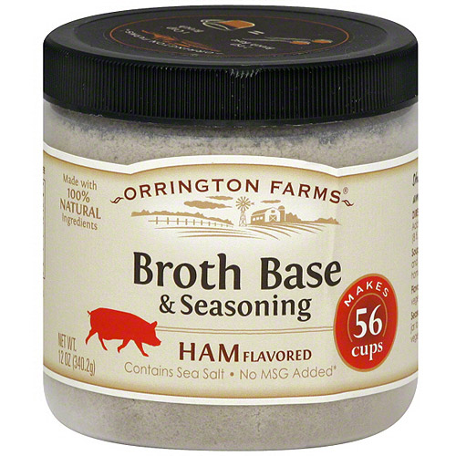 Orrington Farms Ham Flavored Broth Base & Seasoning, 12 oz (Pack of 6)