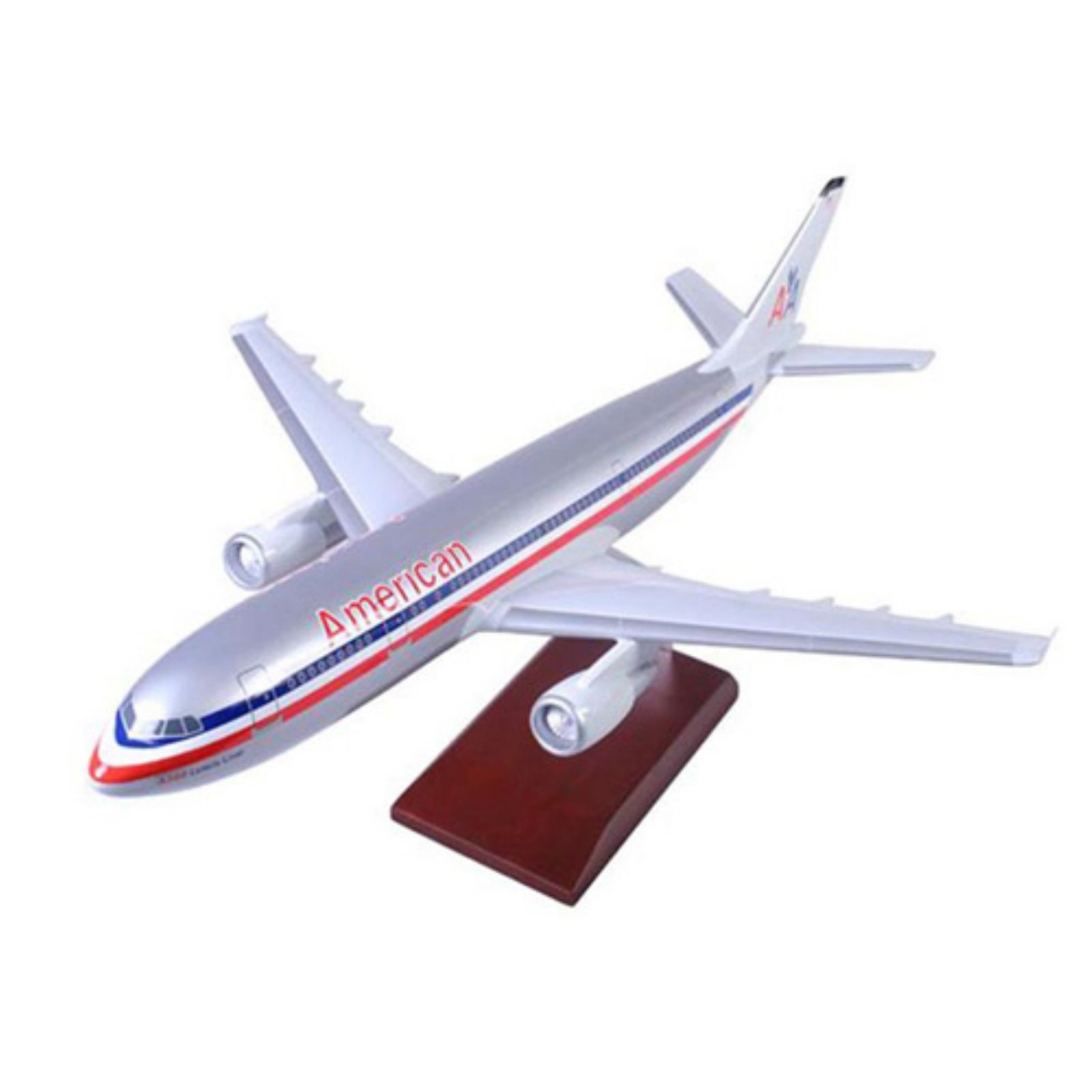 Daron Worldwide Airbus A300-600 American Model Airplane by DARON