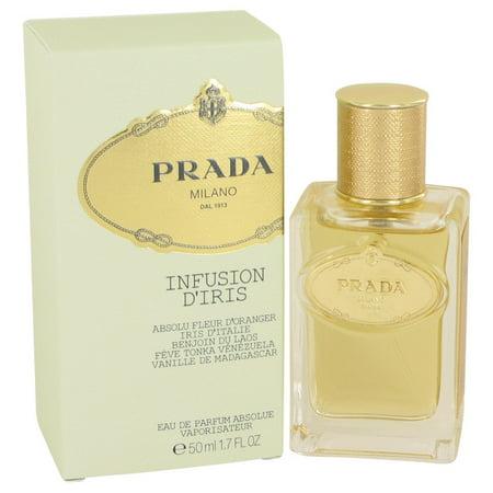 Prada Prada Infusion D'iris Absolue Eau De Parfum Spray for Women 1.7 oz (Prada S)
