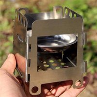 Outdoor Stove outdoorcampingaccessorie Lightweight Folding Wood Stove Pocket Outdoor Cooking Camping