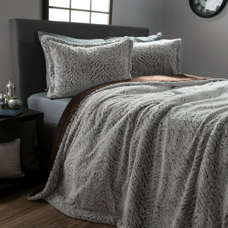 plush full size on gray pinterest wolf throwscouk white of ideas faux fur bedding best bedspread comforter queen