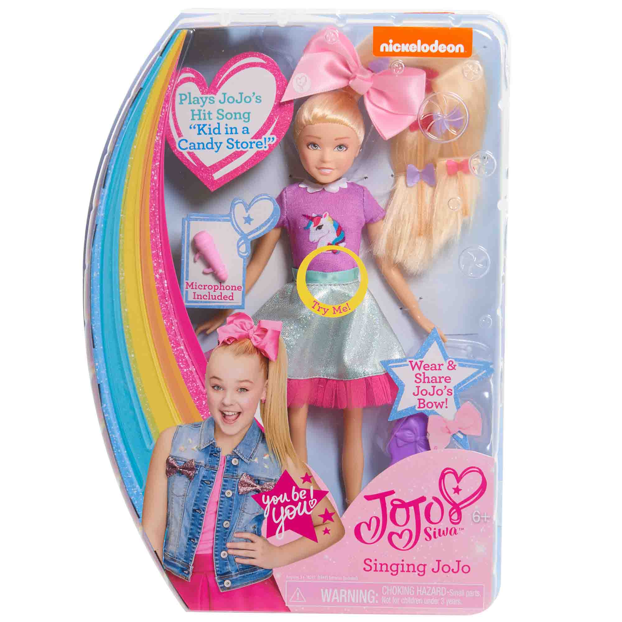 JoJo Siwa Singing Doll- Sings