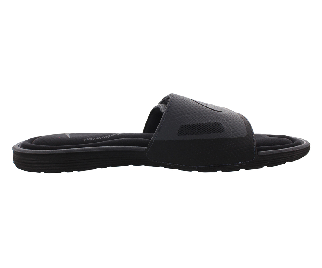 Men's Nike Solarsoft Comfort Slide Sandal Black/Anthracite