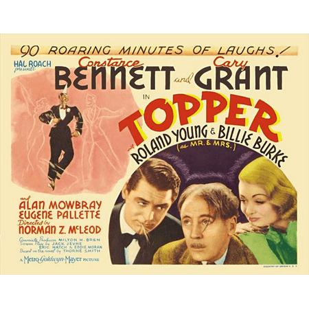 Topper POSTER Movie D Mini Promo (Topper Movies)