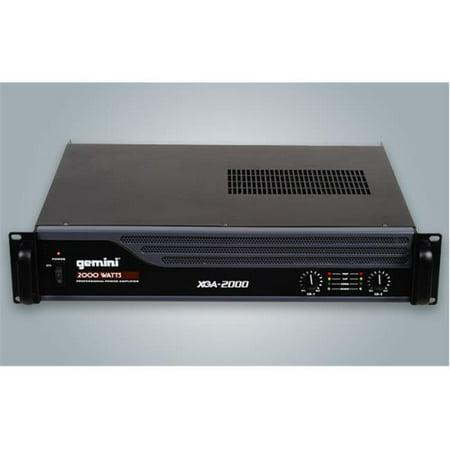 GCI TECHNOLOGIES XGA2000 2000 Watts Professional Power Amplifier - image 1 of 10