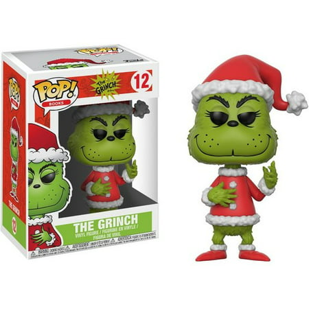 Funko POP! The Grinch: Santa Grinch, Vinyl Figure ()