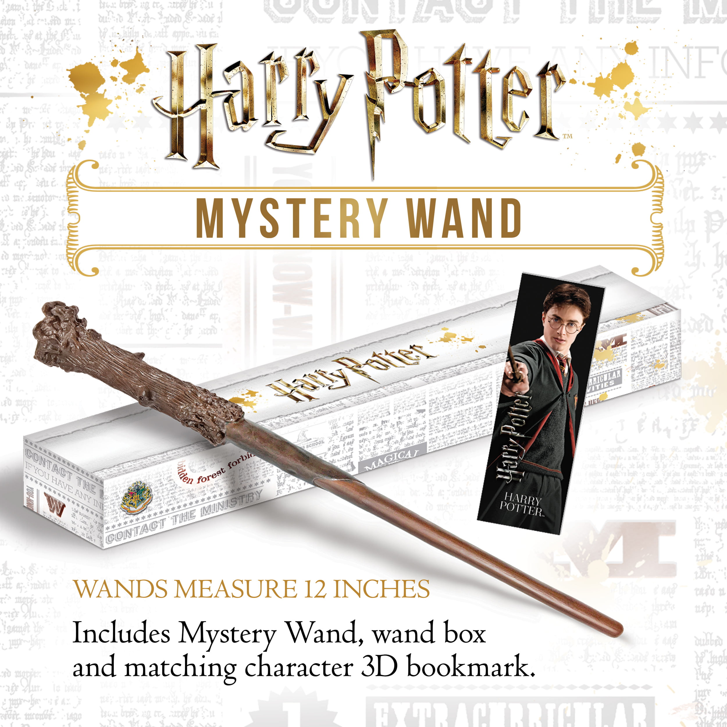 Free Shipping * NEW Noble Collections Harry Potter Mystery Wand