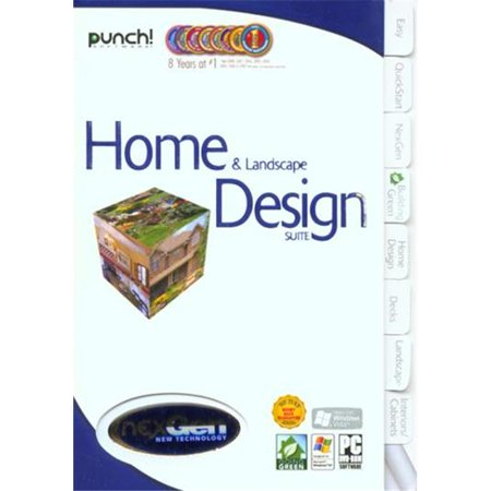 Punch home landscape design suite with nexgen for Punch home landscape design pro 17 5 crack