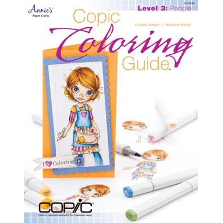 Copic Coloring Guide Level 3: People - eBook