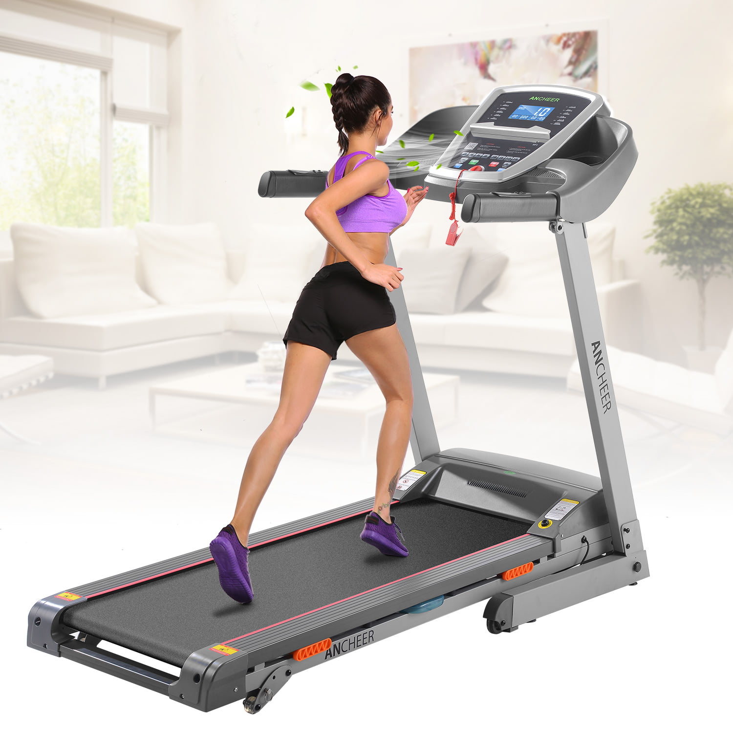 3.0HP Electric Treadmill Exercise Equipment Machine Running Training Fitness Gym Home SMT by