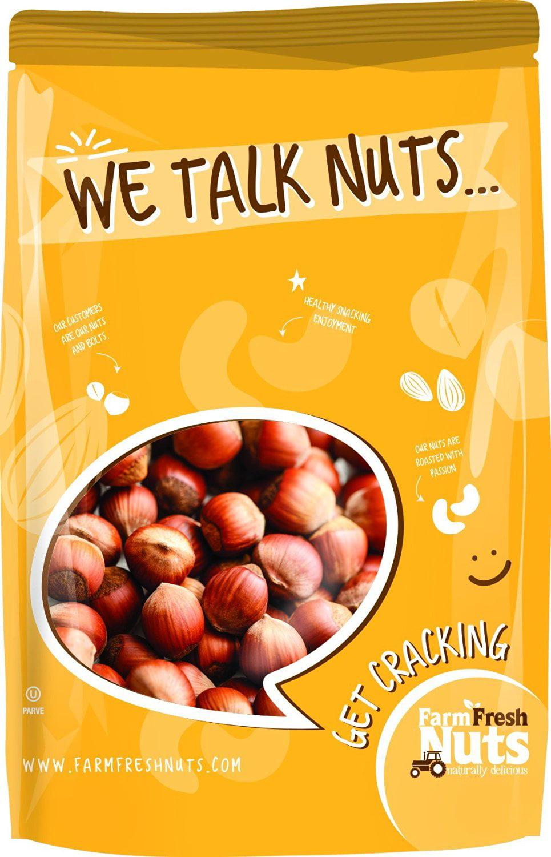 Farm Fresh Nuts Natural In Shell Filberts Hazelnuts (1 LB) by Farm Fresh Nuts