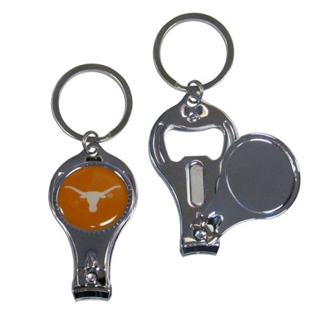 Texas Longhorns Official NCAA 3 in 1 Key Chain by Siskiyou (Texas Longhorns Ncaa Key Ring)