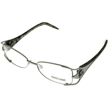 Roberto Cavalli Prescription Eyeglasses Frames Womens RC552 014 Silver Size: Lens/ Bridge/ Temple: 53-16-136 ()