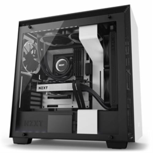 NZXT Case H700i MT NO PS WHITE BK
