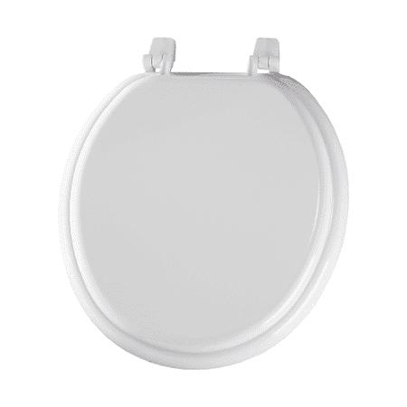 wooden white toilet seat. Bemis 400TTA Wood Round Toilet Seat  White Walmart com