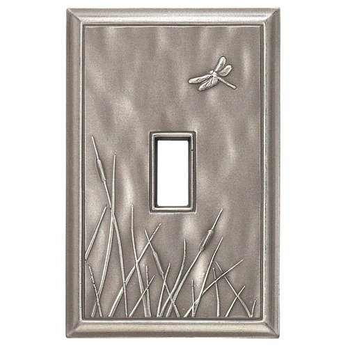 RQ Home Deco Dragon Fly Magnetic Single Toggle Wall Plate