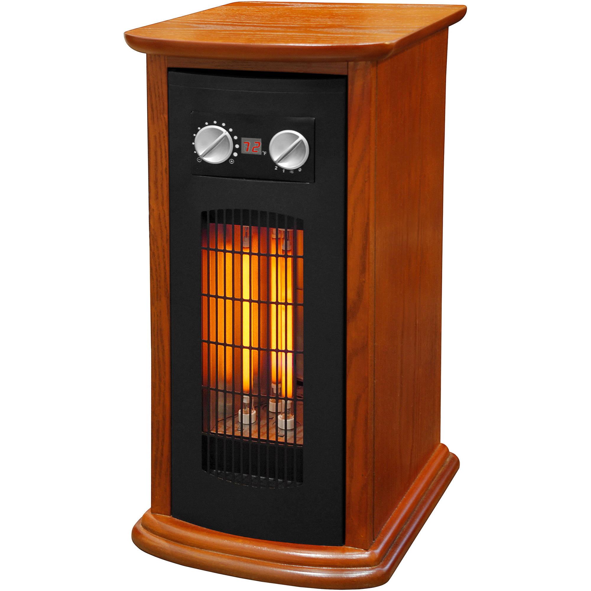 Source Green by LifeSmart R21-2W-IQT Space Heater Wood 1500w (Refurbished)