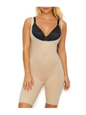 Maidenform Womens Skin Spa Firm Control Open-Bust Thigh Slimmer Style-DM0048