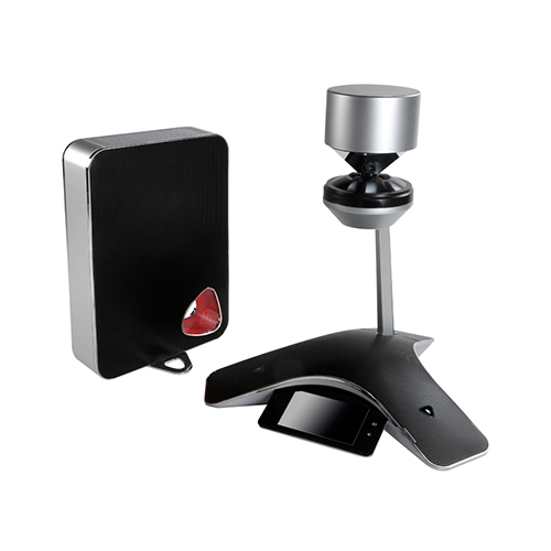 Polycom CX5500 Unified Conference Station w/ 20 Ft Microphone Pickup Range & 360? HD1080p USB Camera