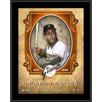 "Orlando Cepeda San Francisco Giants 10.5"" x 13"" Hall of Fame Sublimated Plaque"