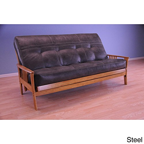 Christopher Knight Home Capri Butternut/ Palance Mattress Futon Brown