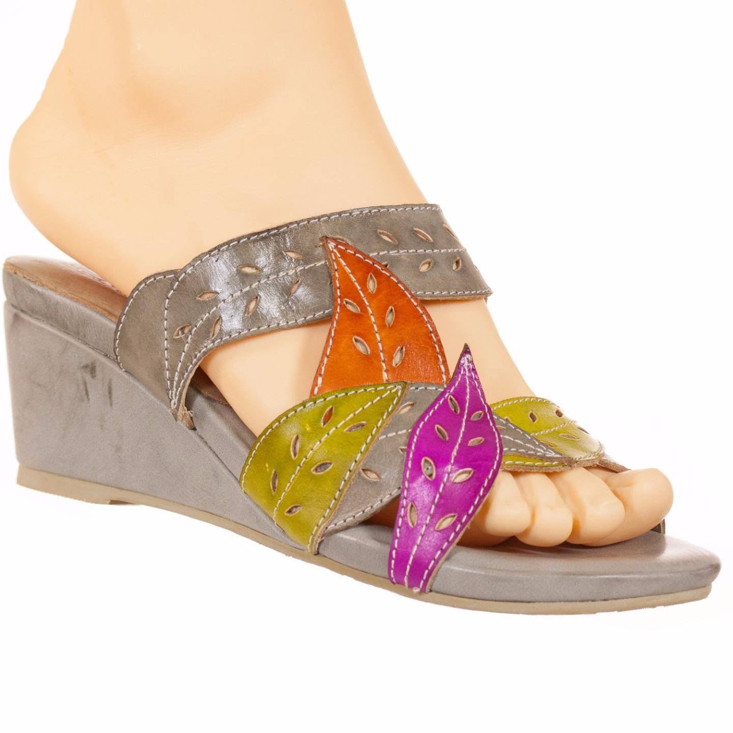 Bernice Spring Sandals Step L'Artiste Collection Women's Sandals Spring Grey Multi EU 37 US 7 bc3a28