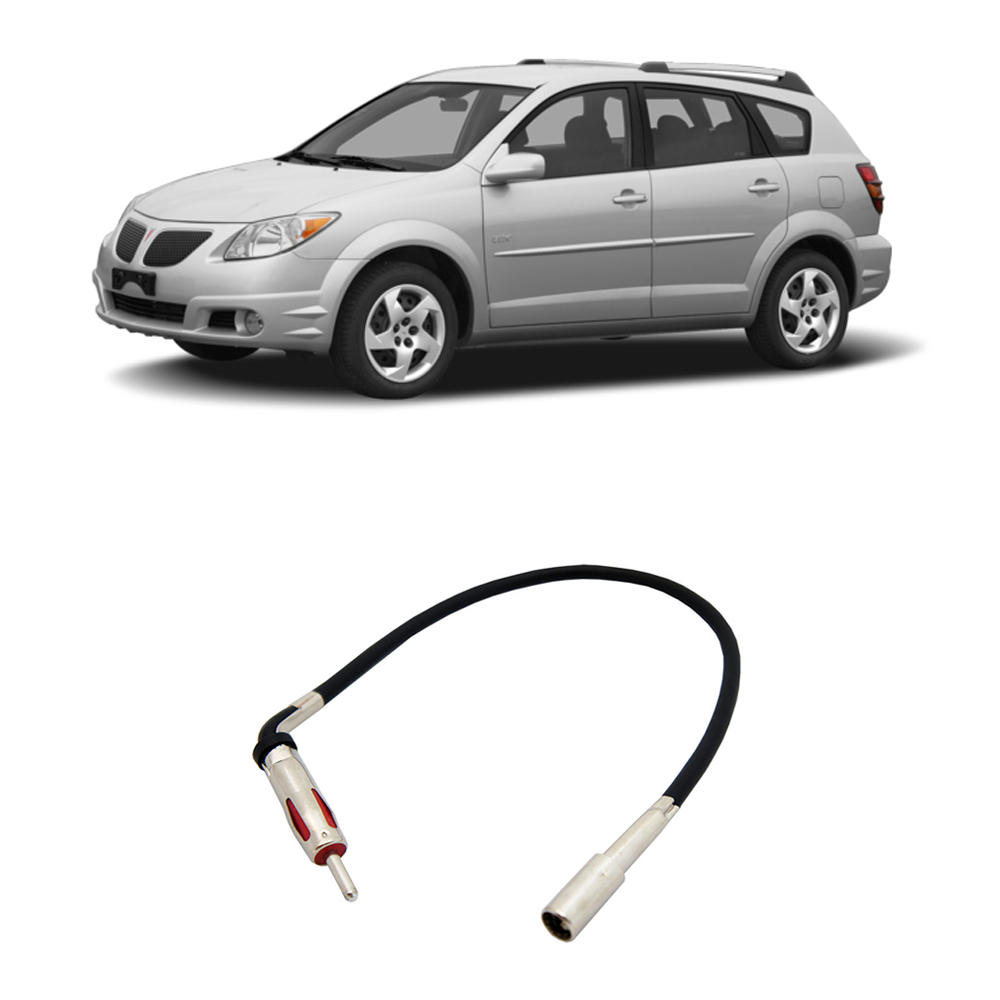 Pontiac Vibe 2003 2008 Factory Stereo To Aftermarket Radio Antenna Adapter Plug Walmart Com