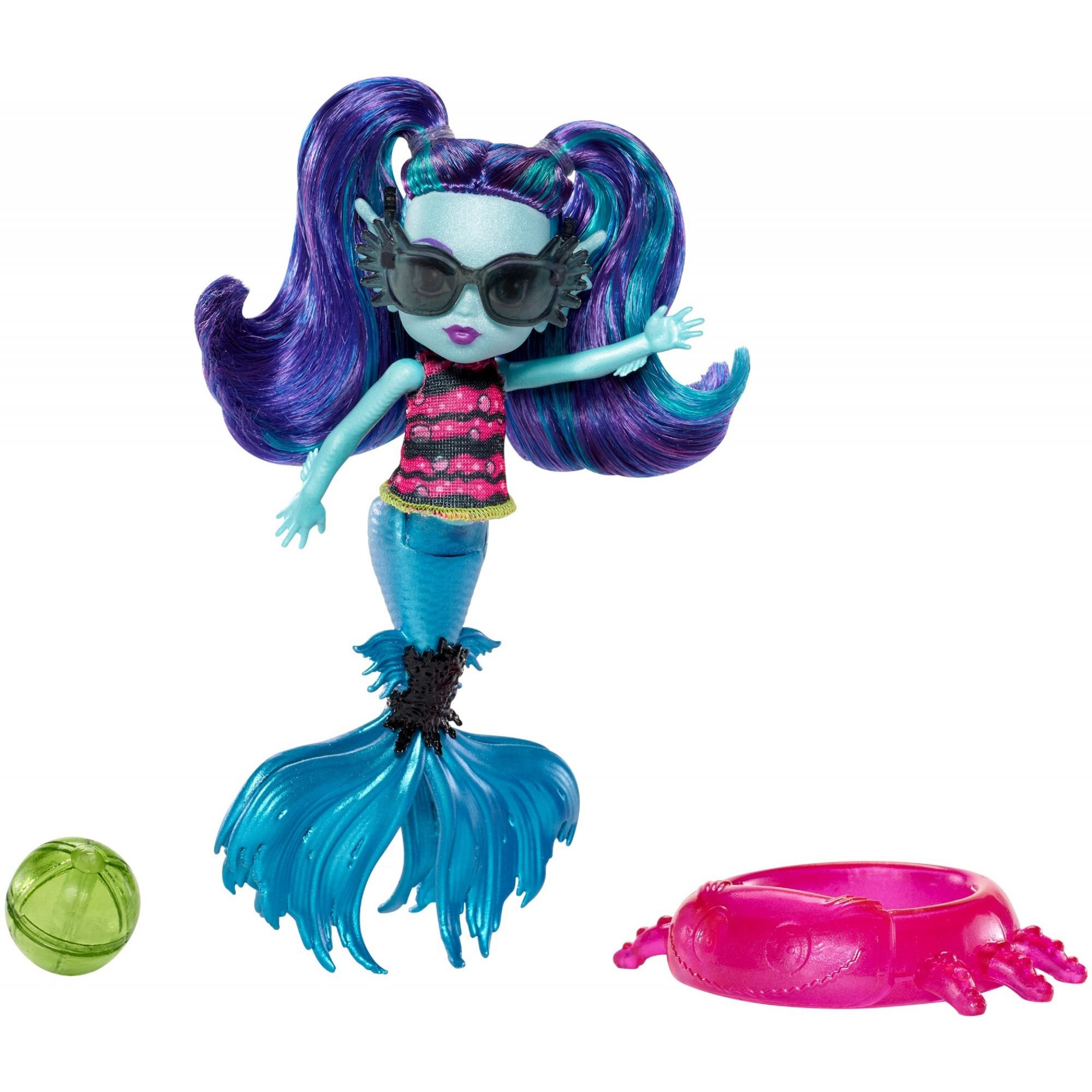 Monster High Monster Family Ebbie Blue doll