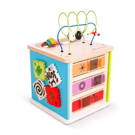 Toddler Cube (Baby Einstein Innovation Station Wooden Activity Cube Toddler)