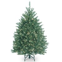 National Tree Company 4.5 ft. Dunhill Blue Fir Tree with Clear Lights