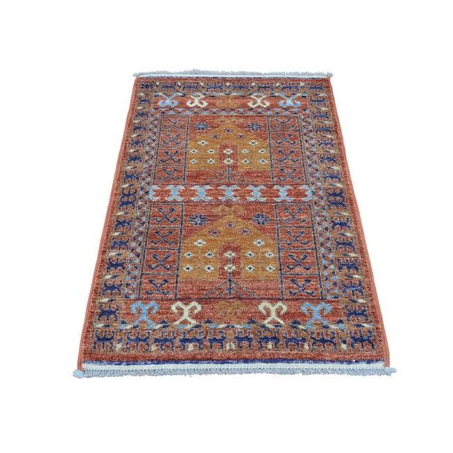 Rugs sh28487 2 x 3 ft. 5 in. Afghan Ersari Prayer Design ...