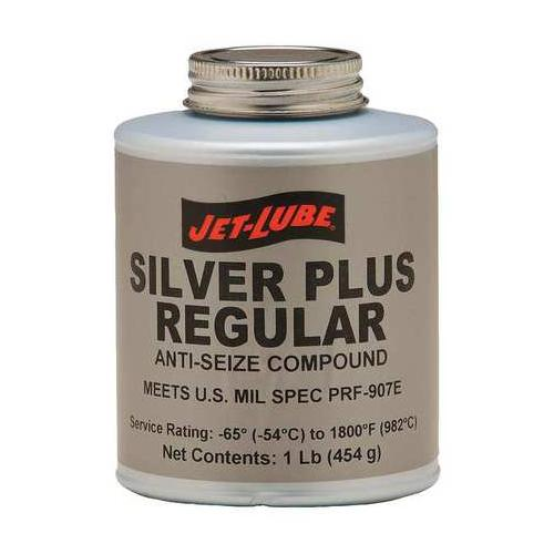 JET-LUBE 69902 Anti Seize Compound, Metallic, 8 oz.