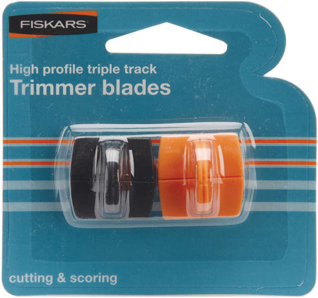 Fiskars TripleTrack Cutting and Scoring Blades - 2 Pack, Style I