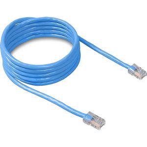 Belkin Cat 5E Patch Cable - RJ-45 macho - macho de RJ-45 - 3ft - azul + Belkin en Veo y Compro