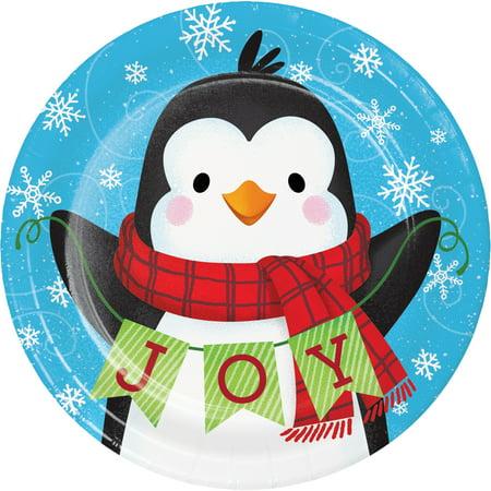 Joyous Snowman (Snowman and Penguin Joy Paper 8 Ct 6.75