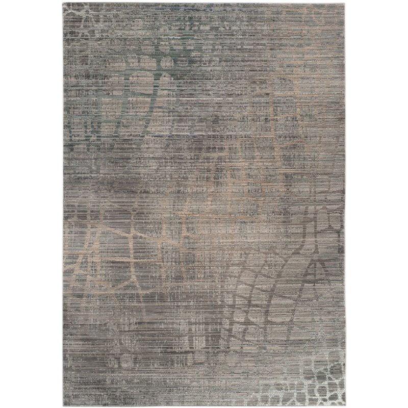 Safavieh Valencia 3' X 5' Power Loomed Polyester Rug in Gray - image 1 de 1