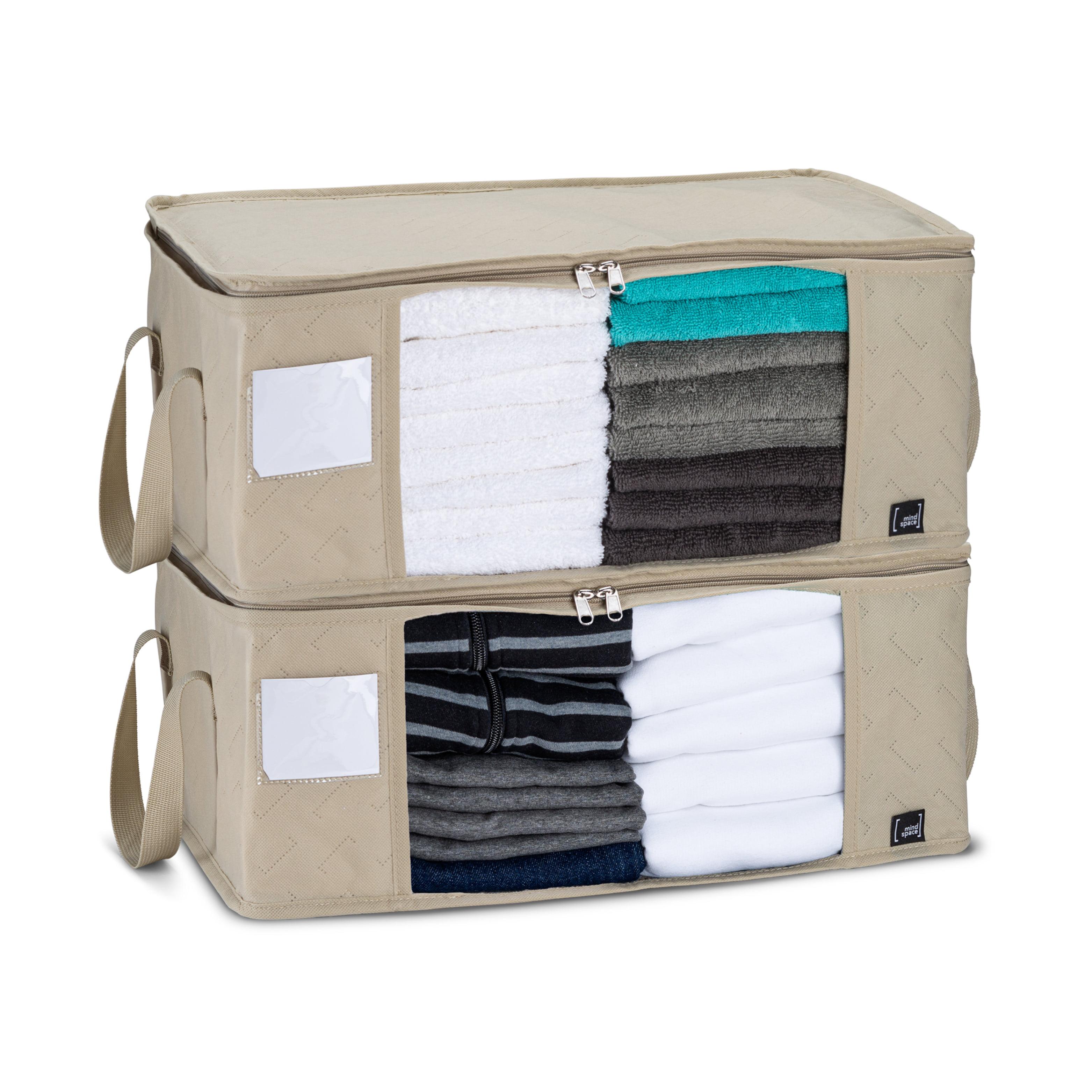Mindspace Upgraded Foldable Storage Bag (2 Pack) | 1 ...