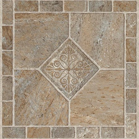 - ARMSTRONG PEEL N' STICK TILE 12 IN. X 12 IN. MULTICOLOR BRONZE 1.14MM (0.045 IN.) / 45 SQ. FT. PER CASE per 2 Case