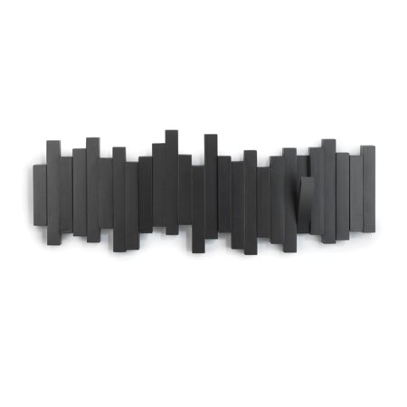 Umbra Sticks Wall Mounted Multi Hook Coat Rack and Entryway Organizer (Wall Coat Rack Entry)