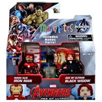 Marvel Minimates Series 61 Iron Man & Black Widow Minifigure 2-Pack