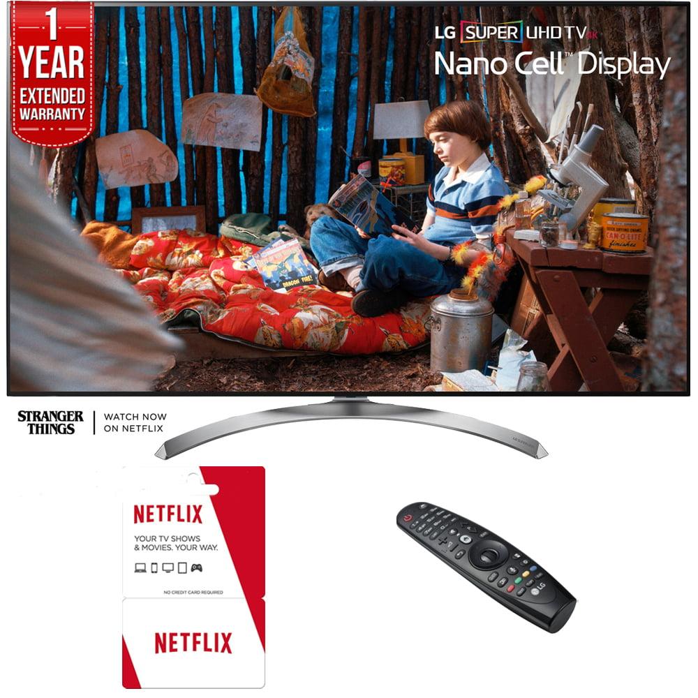 LG 55SJ8500 - 55-inch Super UHD 4K HDR Smart LED TV (2017...