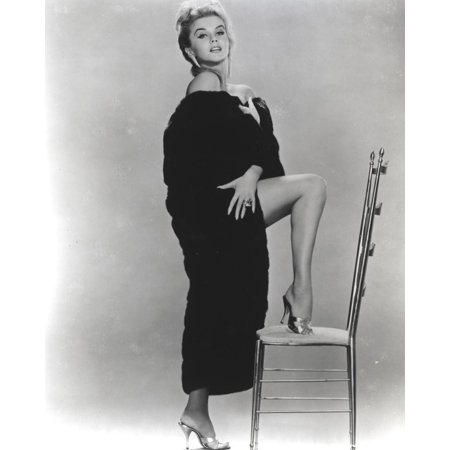 - Ann Margret wearing a Thick Robe in Classic Portrait Print Wall Art By Movie Star News