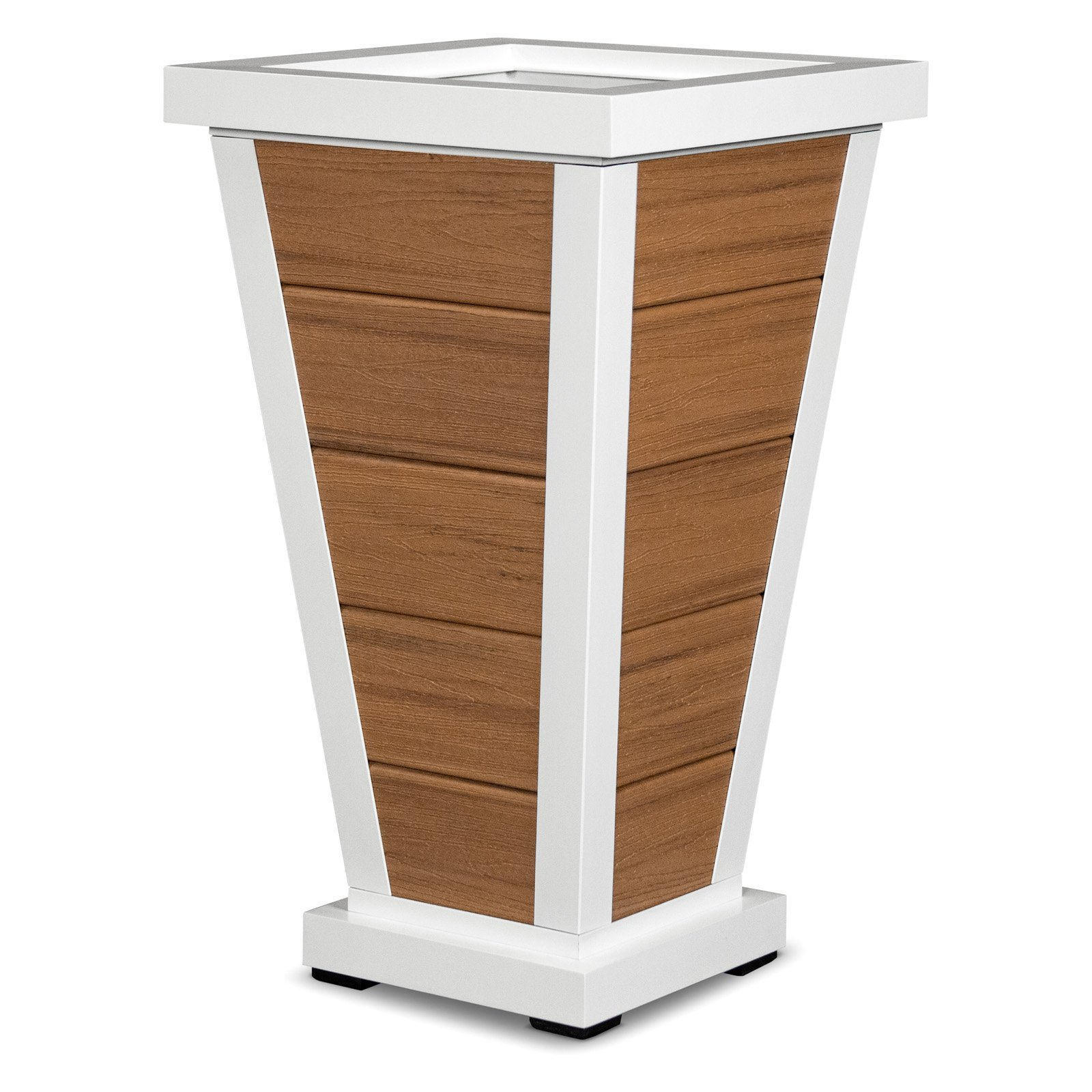 Trex Outdoor Furniture 18-in. 5-Board Pyramid Planter