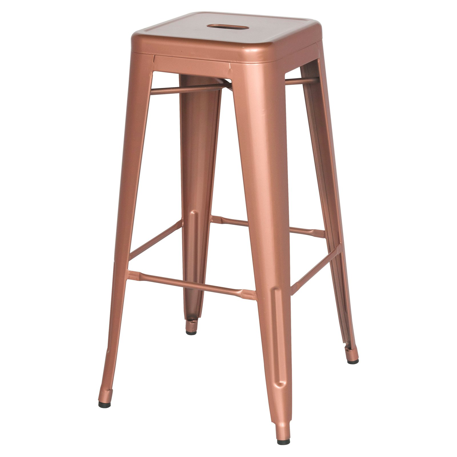 Chintaly Alfresco 8015 Backless 30 in. Bar Stool - Set of 4